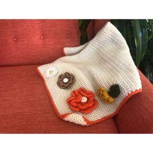 #newtocloset Vintage Handmade Baby Blanket